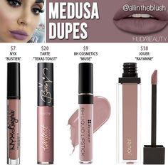 Huda beauty liquid lipstick dupes in the shade Medusa // Kayy Dubb ♡