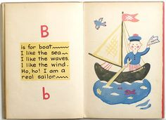 THE GAY ABC by FRANCOISE, 1930  #alphabet  #abecedario  #children's books  #libros infantiles