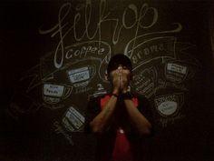 filkop pekalongan indonesia #coffeediagram #tanyabarista #lettering #steffart #drawingart #mural