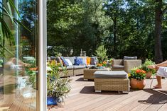 Spring is here, and summer is around the corner, which means enjoying your patio. Here's how you and your local exterminators at Western Exterminator can keep it relaxing and pest-free. Simple Furniture, New Furniture, Outdoor Furniture Sets, Outdoor Decor, Home Design, Patio Plants, Outdoor Entertaining, Lawn And Garden, The Great Outdoors