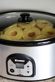 Cooking a Ham in the Crock Pot