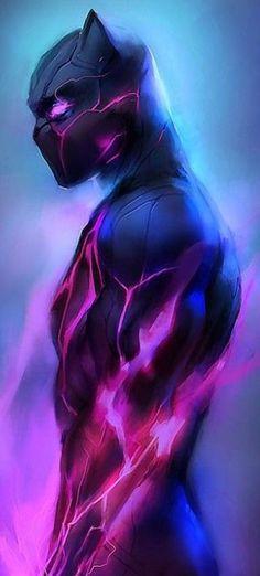 Black Panther °° the big and best Marvel Marvel Dc Comics, Marvel Art, Marvel Heroes, Marvel Avengers, Black Panther Marvel, Black Panther Art, Deadpool Wallpaper, Avengers Wallpaper, Black Panthers
