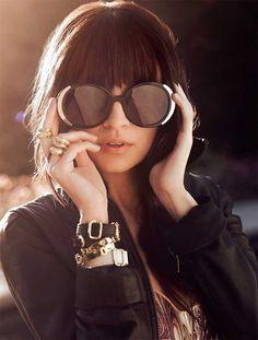 Nicole Richie - House of Harlow 1960 Sunglasses