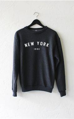 NYCT Clothing New York 199x Sweater