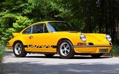 1973 Porsche 911 2.7 Carrera RS - Possibly one of first Supercars