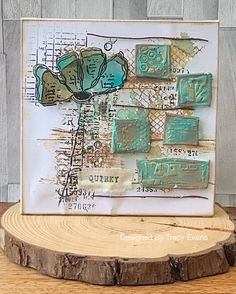"""Card using Tracy Evans Stamp """"Wild and Free"""" from AALLandCreate (craftaddicts-trac.) and free Boutique Scrapbooking, Tampons Transparents, Card Creator, Distress Oxide Ink, The 5th Of November, Wild And Free, Paper Cards, How To Introduce Yourself, Card Making"""