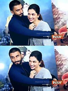 Deep and Ranveer Singh ♥ #BajiraoMastanipromotions #BajiraoMastaniOn18Dec