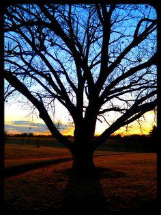 Sunset in Des Moines, Iowa