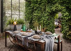 Outdoor Furniture Sets, Outdoor Decor, Table Settings, Design, Home Decor, Lawn And Garden, Decoration Home, Room Decor