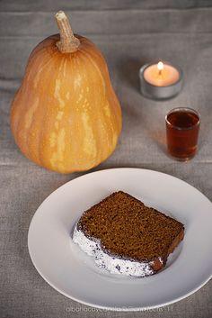 Pan de jengibre y calabaza
