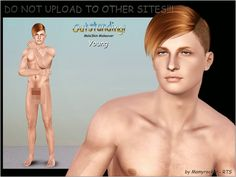 My Sims 3 Blog: Outstanding! ND Male Skin Makeover by MamyRocker