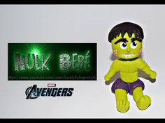 Hulk Bebe Tutorial - Porcelana Fria Avengers- Lovely Baby Pink ♥