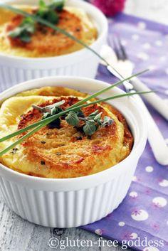green chile egg bake from glutenfreegoddess.blogspot.com