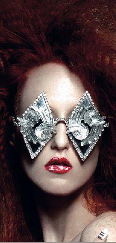 No.ise Madazine features Mercura NYC Crystal & Mirror Diamond Shaped Sunglasses, No.ise 12/2014 PHOTOGRAPHER tony veloz HAIR kahlil oliver MAKE-UP liz wegrzyn MANICURIST angela turner STYLIST kardia williams MODEL kimberly davis