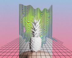 vaporwave, glitch art