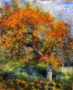 Pierre-Auguste Renoir The Pear Tree