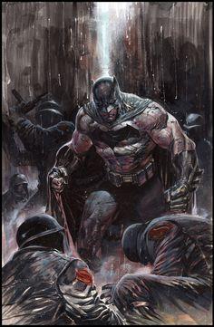 Batman v Superman art by Ardian Syaf