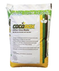 Formulated for use in re-circulating hydroponic systems and run to waste container gardens, CocoRox grow media provides an ideal air to water ratio throughout the root zone.