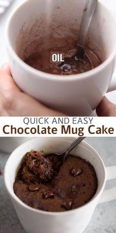Microwave Chocolate Mug Cake, Mug Cake Microwave, Chocolate Mug Cakes, Chocolate Chips, Best Chocolate Mug Cake Recipe, One Egg Cake Recipe, Quick Chocolate Desserts, Mug Cake Eggless, Microwave Cookies