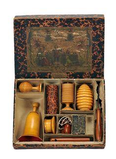 Little Conjurer Magic Set. Germany [?], ca. 1880.
