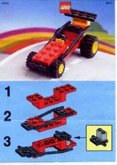 1611 Dune Buggy - Instructions et catalogues LEGO bibliothèque Volkswagen Bus, Vw Camper, Volkswagen Beetles, Pet Dogs, Dogs And Puppies, Butterfly Dragon, Monarch Butterfly, Lego Club, Lego Group