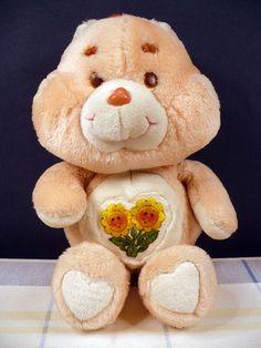 Vintage 80s Friend Care Bear Plush Doll Kenner 1983 1980s Flowers Toy | eBay