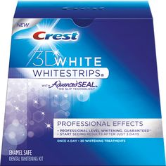 3D-White-#Whitestrips-Professional-Effects #StratAd #CompAnalysis