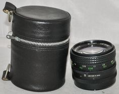 Super Carenar MC 28mm F/2.8 SLR Camera Lens with M42 Screw Fit No.294461E + Case