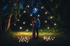 Imagem de love, couple, and lights