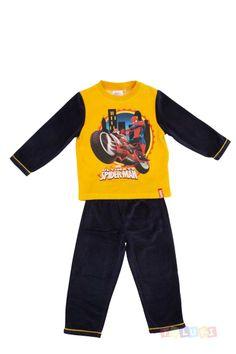 Pyjama Garçon Spider-Man à moto https://twitter.com/Tolukicom #enfant #pyjama