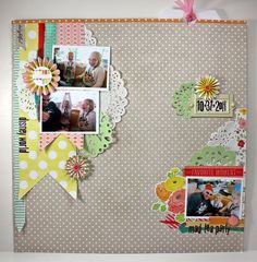 Mandy Starner love how it's on both edges and the middle is the 'white space'