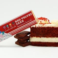 This should be a sin...  Dylan's Red Velvet Cake Chocolate Bar