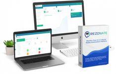 Rezonate Review, Bonus - 9 in 1 Social Marketing Leads, Traffic & Sales System Marketing Software, Sales And Marketing, Affiliate Marketing, Social Media Marketing, Marketing Tools, Epic App, Top Social Media, Pinterest Marketing, Mobile App