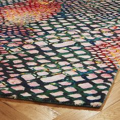 Shop Rainbow Snake Rug. British Fashion Designer Matthew Williamson Lends  His Unique Sense Of Chic