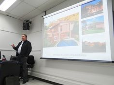 Junio: Visita del director general de Sarco Architects, Roderick Anderson.