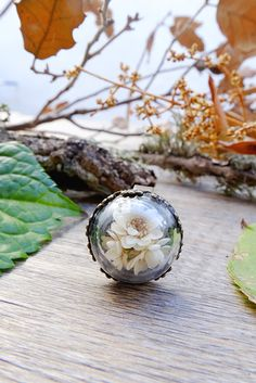 Wear a garden globe right on your finger