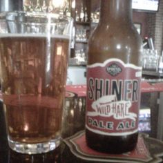 Shiner Wild Hair Pale Ale, Spoetzl Brewery, Shiner Texas. I have yet to find a Shiner product I did not like!