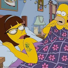 Lena Dunham Tries To Break Up Homer & Marge In 'The Simpsons' Premiere — Watch Die Simpsons, The Simpsons Show, Simpsons Funny, Simpsons Quotes, Lena Dunham, Kristen Bell, Bob Patiño, Fairies, Family Guy