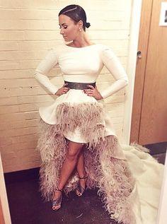 Demi Lovato Royal Variety Dress - http://oceanup.com/2014/11/13/demi-lovato-royal-variety-dress/