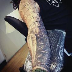 Amor Sleeve Mens Tattoos