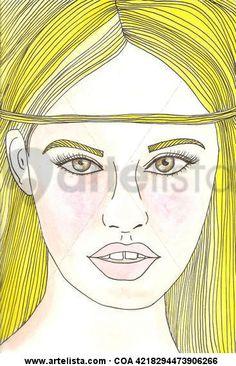 Comprar AMARILLO CINTA - Pintura de Lola Kabuki desde 53 EUR y 50% de descuento (2015/03/11) en Artelista.com, con gastos de envío y devolución gratuitos a todo el mundo
