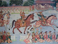 Burmese nobles partaking in equestrian sports Spring Racing, National Archives, Armada, Modern History, Burmese, Ocean Art, Antique Books, World War I, Designs To Draw