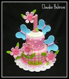 butterfly cake kisa - claudia behrens by Claudia Behrens ~ Cakes, via Flickr