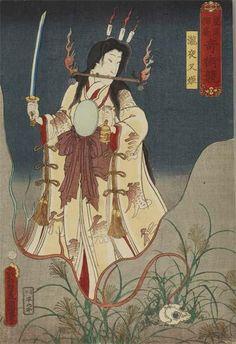 浮世絵と刀剣 - Togetterまとめ