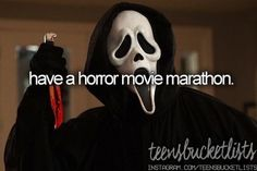 Check✔️ I've watched the whole first season of Scream straight in one day before... Want to do this again though when season 2 comes out!