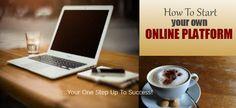 How to start your own online platform