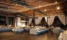 Decor with Father of the Bride lighting.