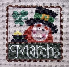 :) I had a successful Friday Night Sew-In! I didn't get to sew though. I stitched this instead! :) I finished most of it. Celtic Cross Stitch, Mini Cross Stitch, Counted Cross Stitch Patterns, Cross Stitch Designs, Cross Stitch Embroidery, Hand Embroidery, St Patrick's Cross, Family Ornament, Christmas Embroidery Patterns
