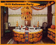 Halloween Party Recipes | Halloween Party Decorating Ideas from 1919 -