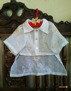 I've asked my mom numerous times what our dogs will wear to the wedding.  She laughs, but I'm serious.  Doggie barong tagalog, c'mon now.